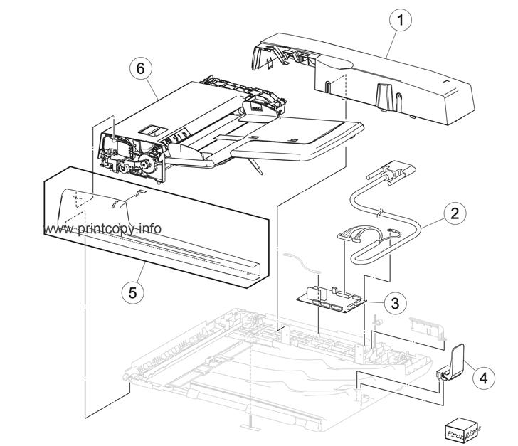 Parts Catalog > Lexmark > X950de > page 92