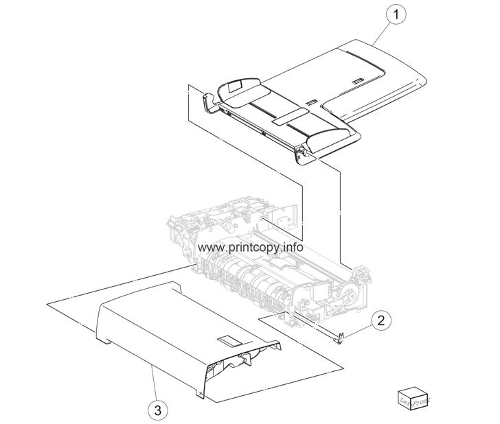 Parts Catalog > Lexmark > X950de > page 93