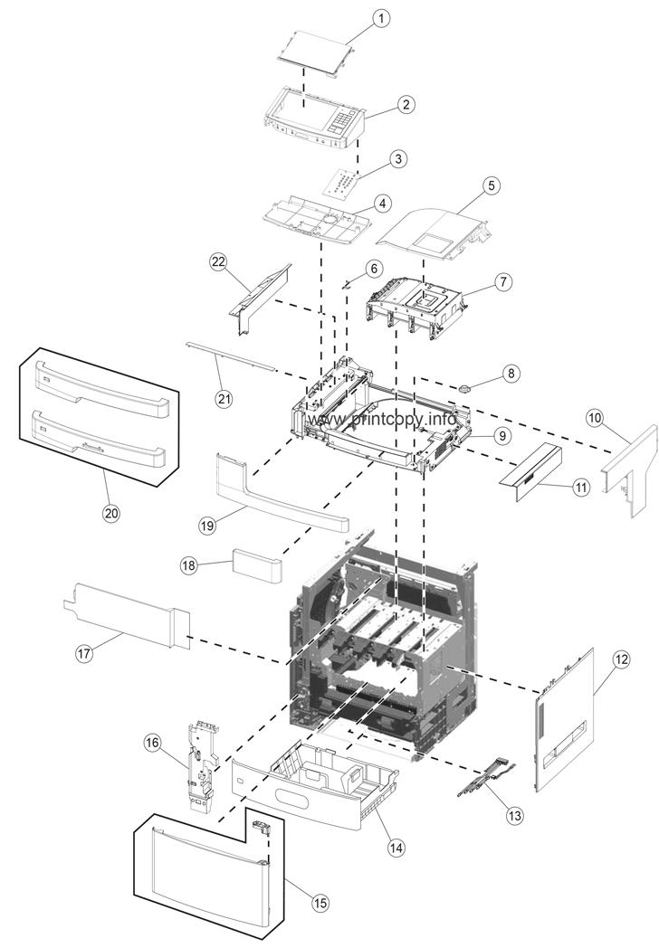 Parts Catalog > Lexmark > X792 > page 1