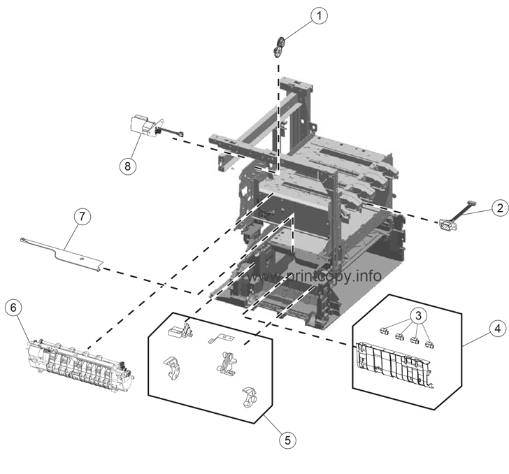 Parts Catalog > Lexmark > X792 > page 5