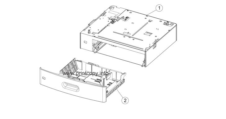 Parts Catalog > Lexmark > X792 > page 13