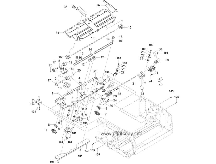 Parts Catalog > Kyocera > DF7100 > page 4