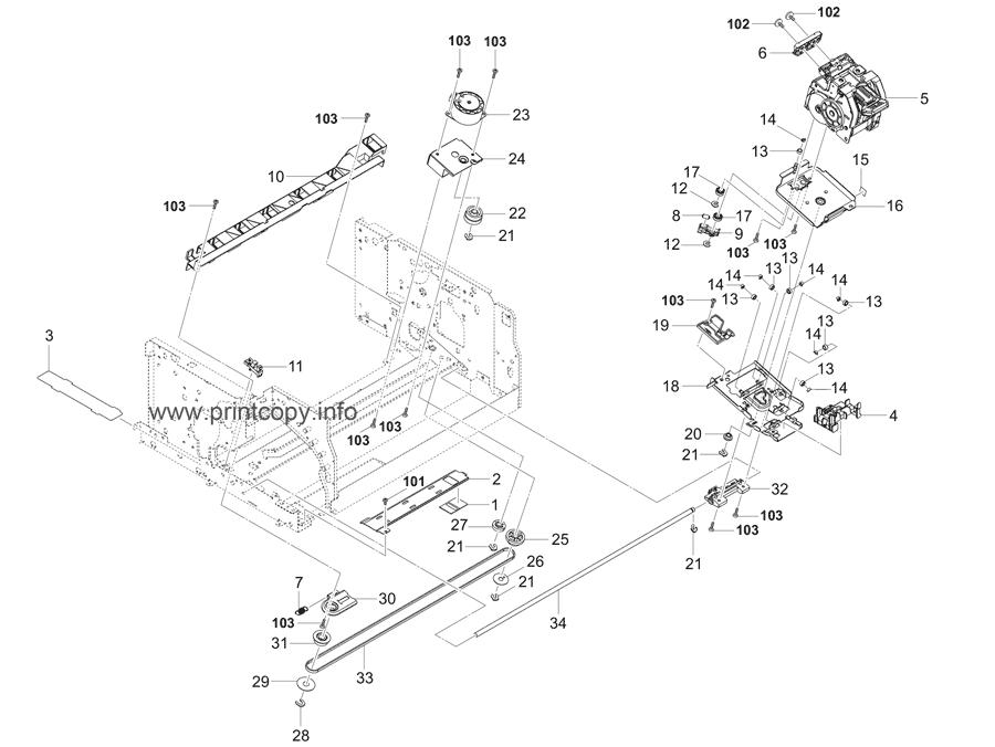 Parts Catalog > Kyocera > DF7100 > page 6