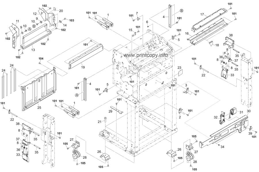 Parts Catalog > Kyocera > DF7120 > page 2