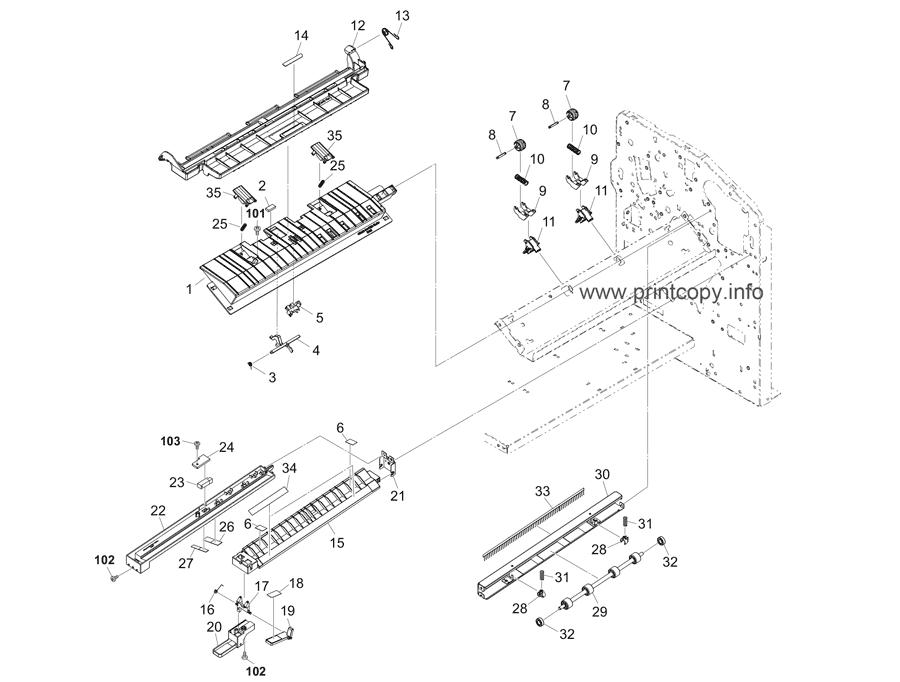 Parts Catalog > Kyocera > DF7120 > page 4