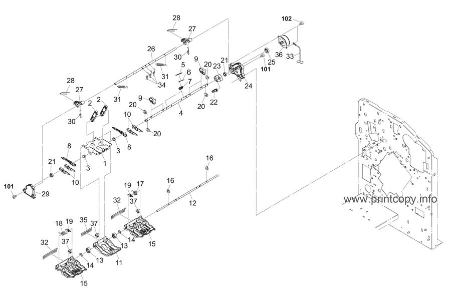 Parts Catalog > Kyocera > DF7120 > page 5