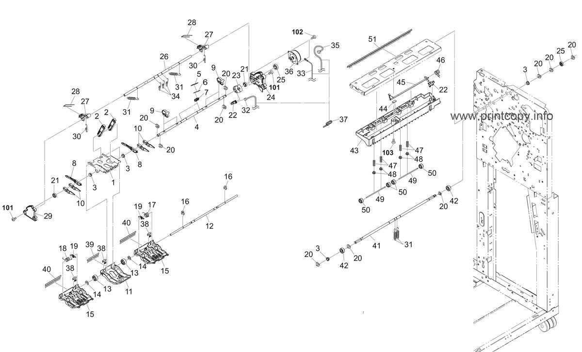 Parts Catalog > Kyocera > DF791 > page 5