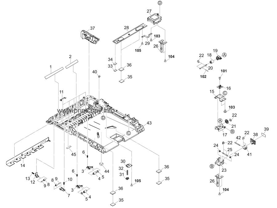 Parts Catalog > Kyocera > DP7120 > page 2