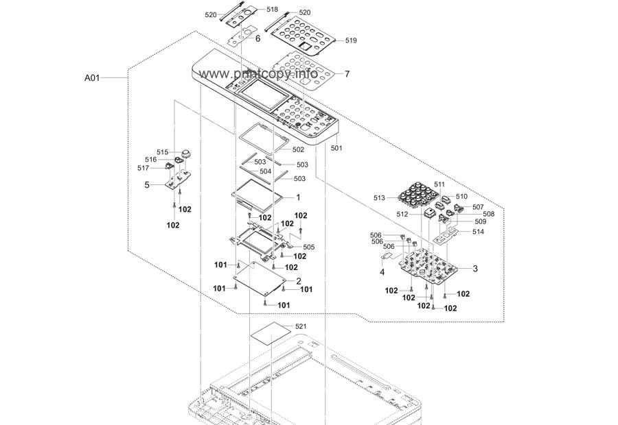 Parts Catalog > Kyocera > ECOSYS M2135dn > page 20