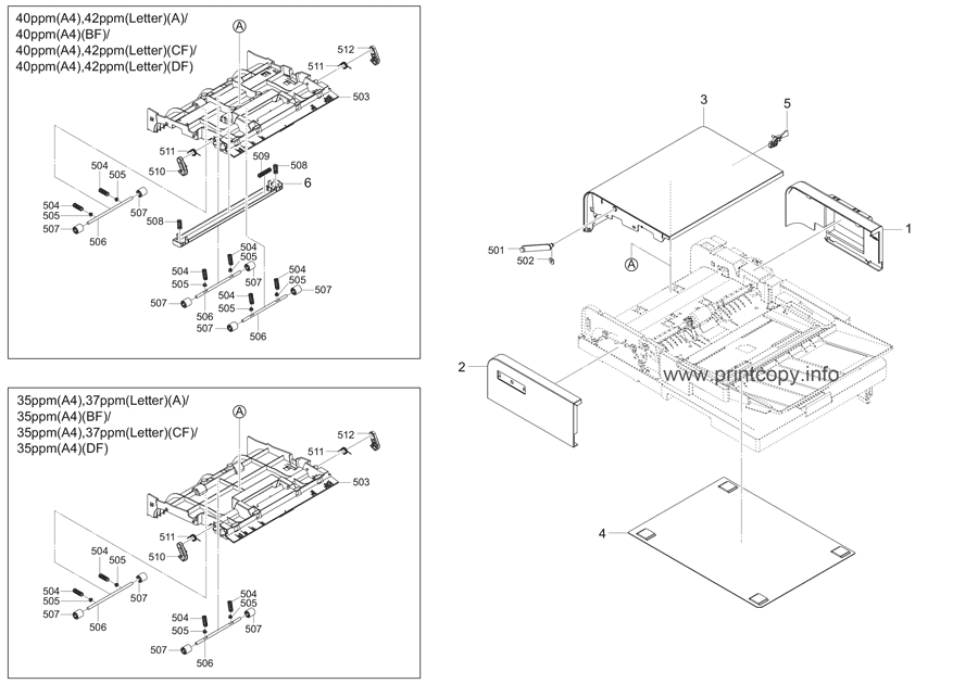 Parts Catalog > Kyocera > ECOSYS M2735dw > page 24