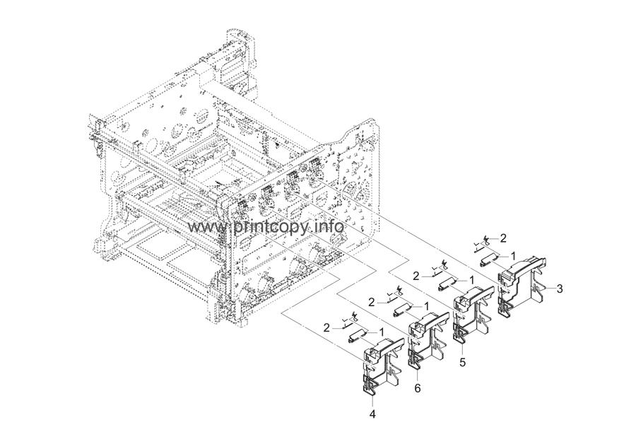 Parts Catalog > Kyocera > ECOSYS P5026cdw > page 4