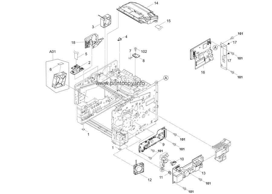 Parts Catalog > Kyocera > ECOSYS P3060dn > page 2