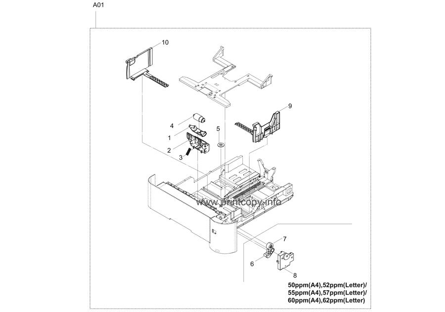 Parts Catalog > Kyocera > ECOSYS P3050dn > page 3