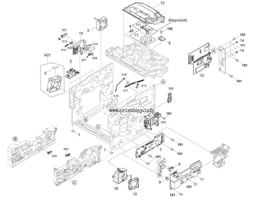 Parts Catalog > Kyocera > ECOSYS P3150dn > page 2
