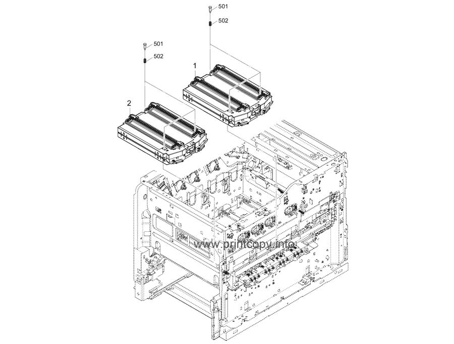 Parts Catalog > Kyocera > ECOSYS P7240cdn > page 7