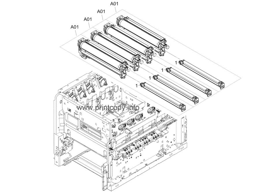 Parts Catalog > Kyocera > ECOSYS P7240cdn > page 9