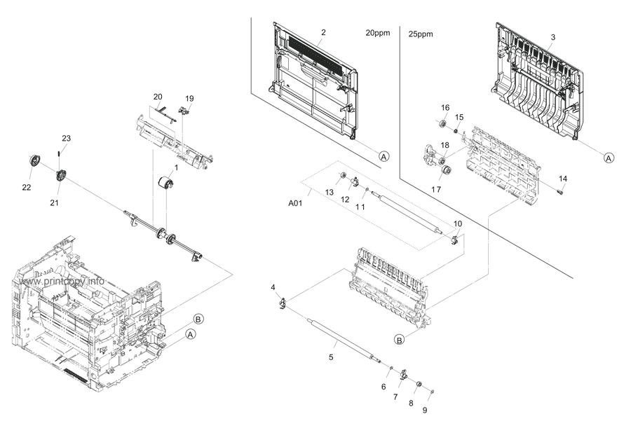 Parts Catalog > Kyocera > FS1125MFP > page 3