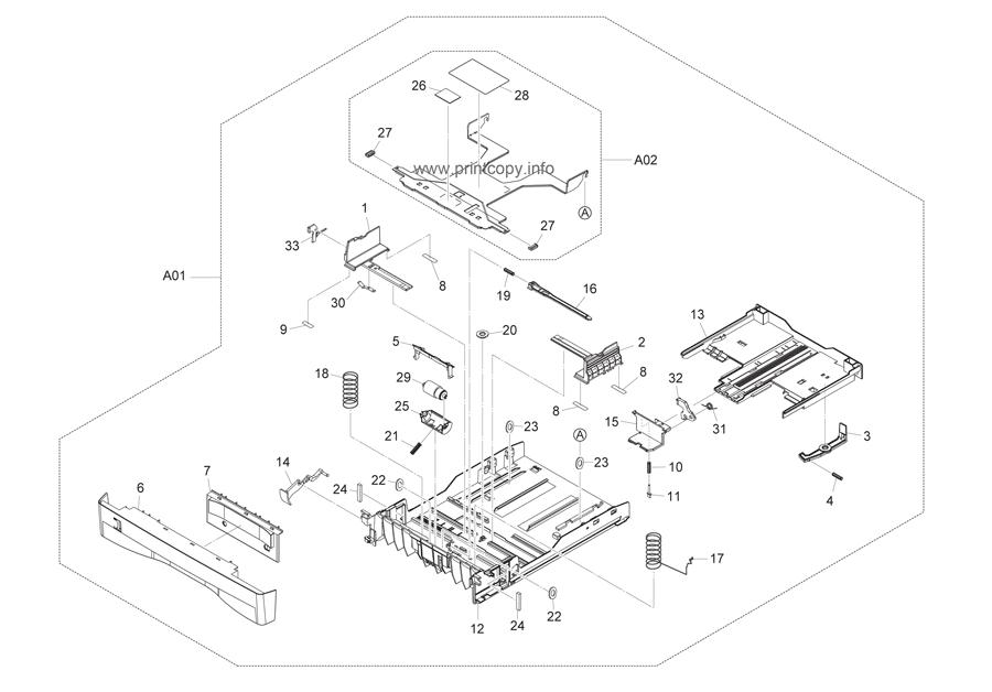 Parts Catalog > Kyocera > FS1035MFP > page 3