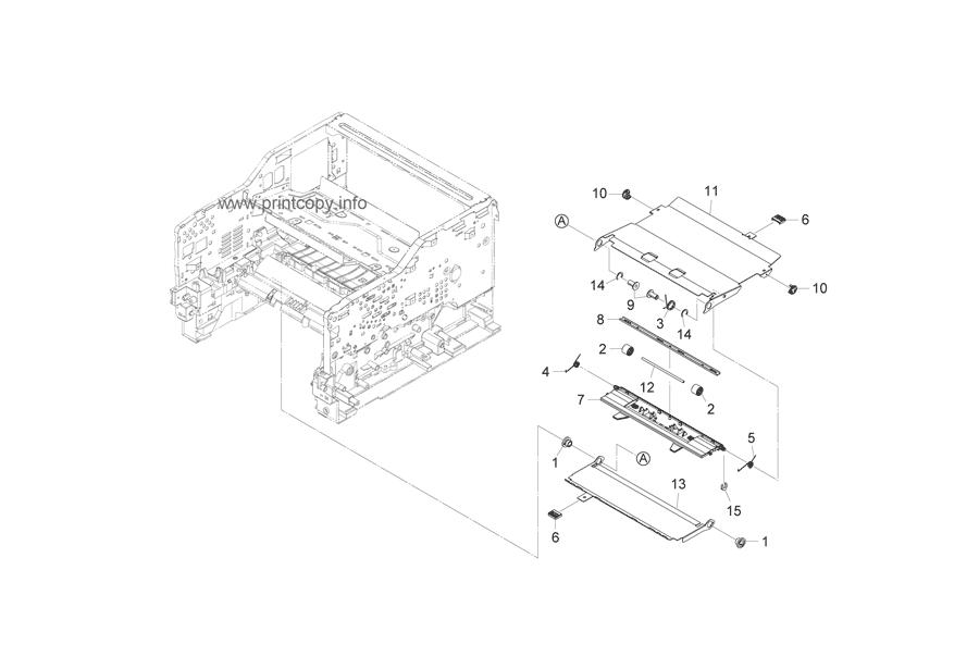 Parts Catalog > Kyocera > FS1135MFP > page 11