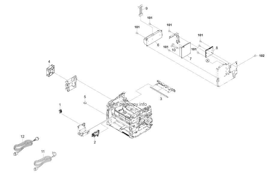 Parts Catalog > Kyocera > FS1060DN > page 8