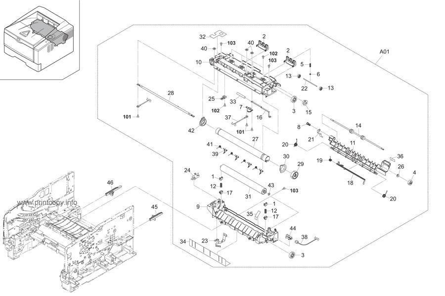 Parts Catalog > Kyocera > FS1300D > page 10