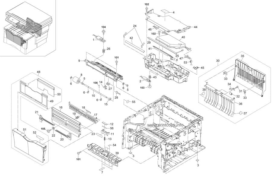 Parts Catalog > Kyocera > KM1820 > page 3