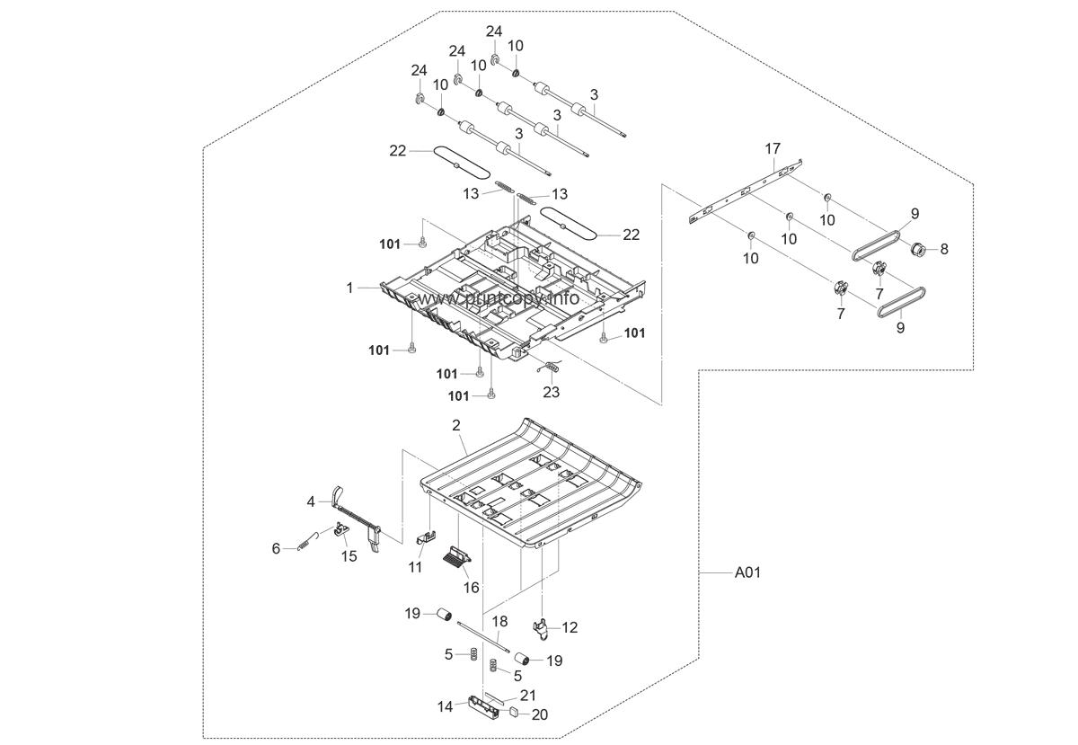 Parts Catalog > Kyocera > FS2020D > page 10