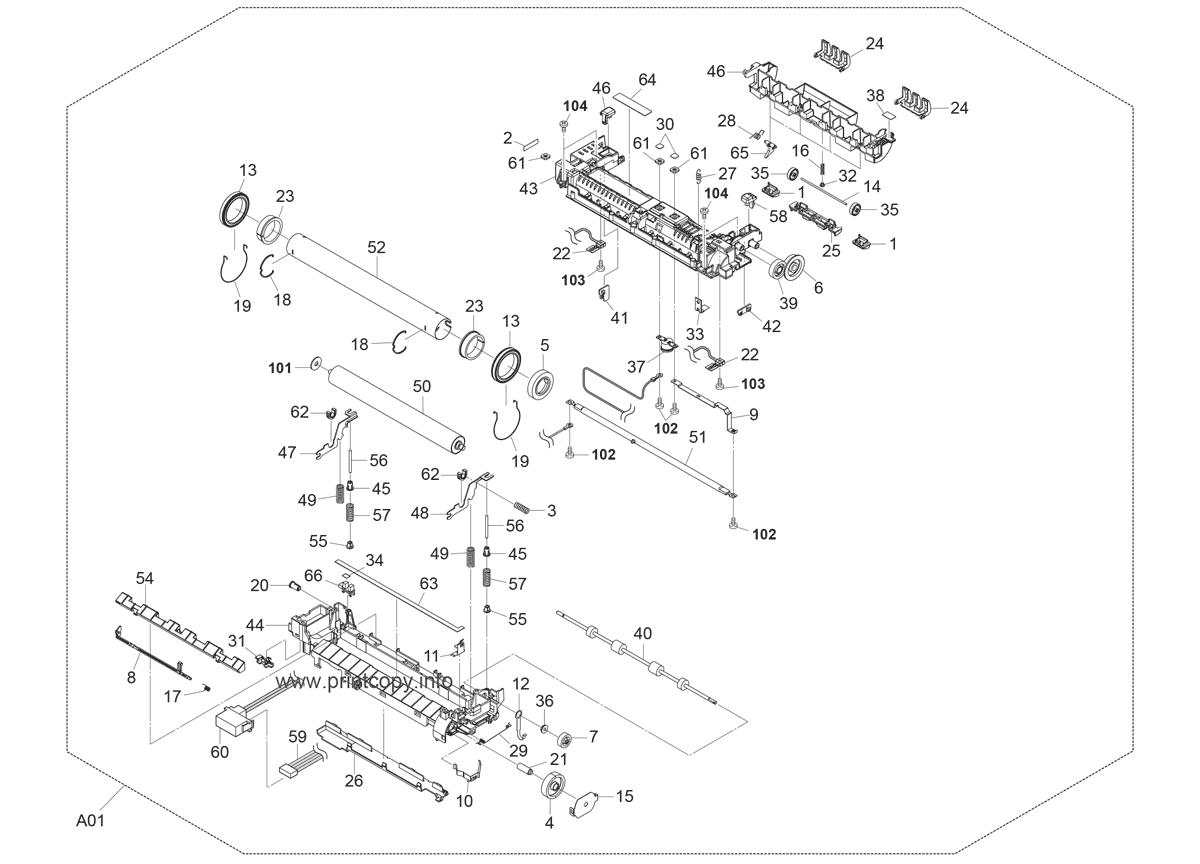 Parts Catalog > Kyocera > FS3920DN > page 14