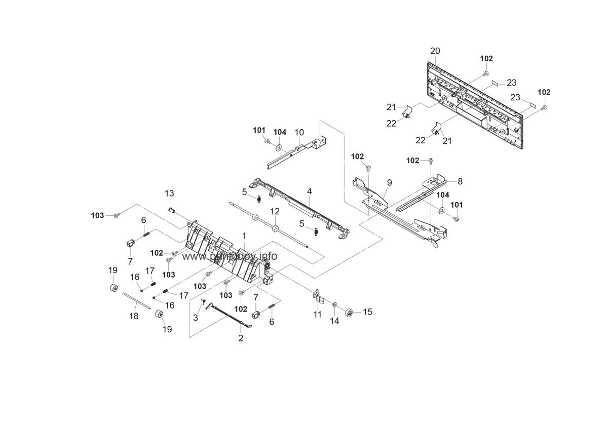 Parts Catalog > Kyocera > FS2020D > page 15