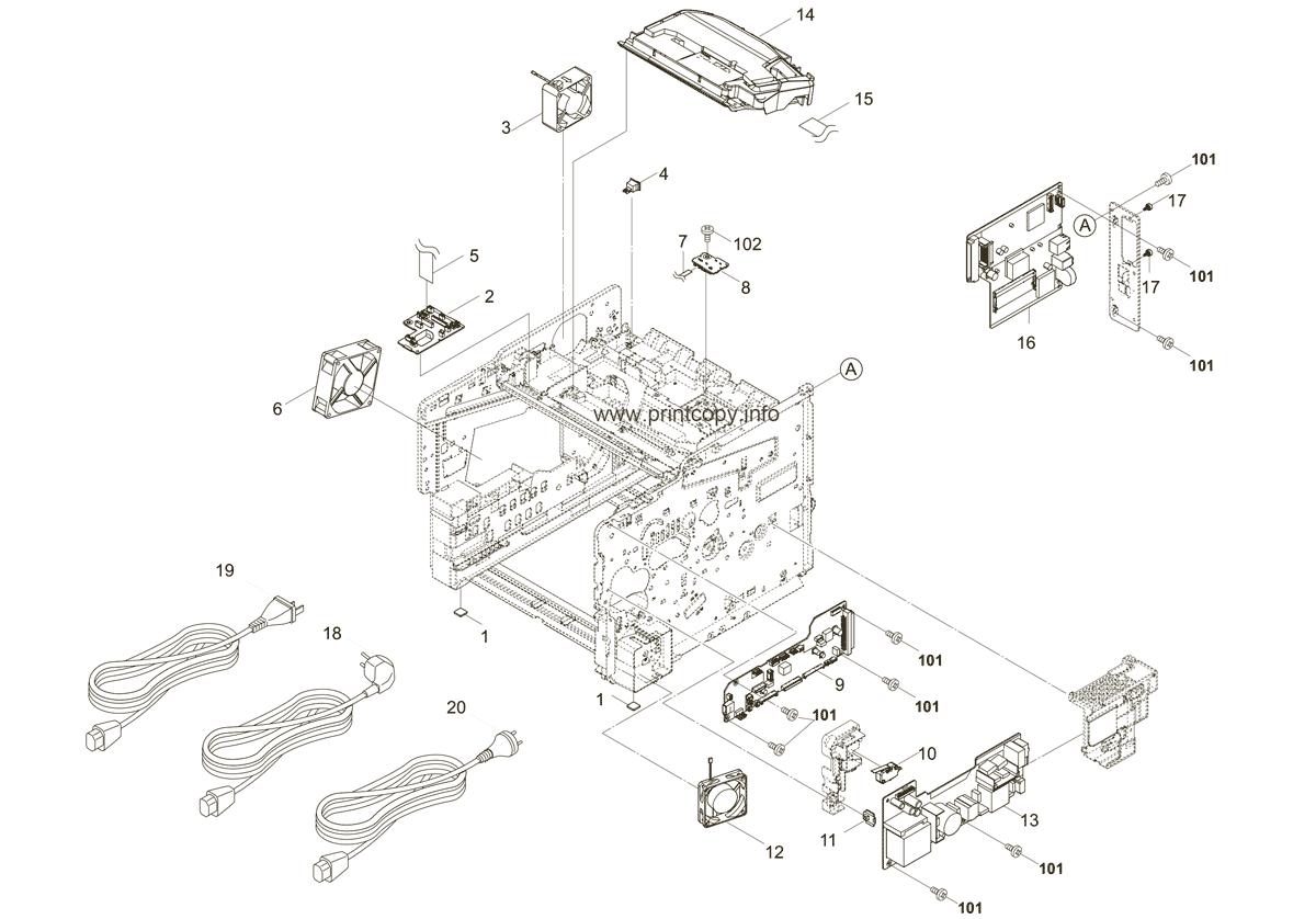 Parts Catalog > Kyocera > ECOSYS FS4200DN > page 2