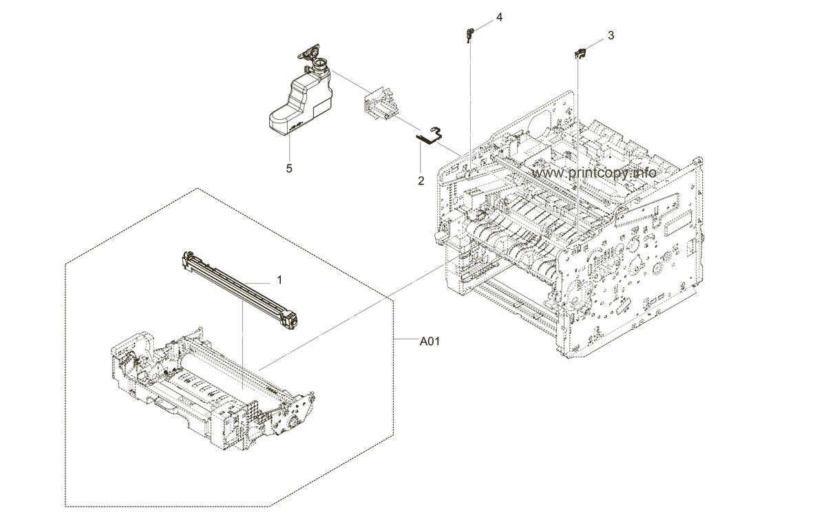 Parts Catalog > Kyocera > ECOSYS FS4200DN > page 5