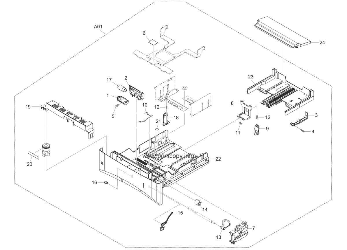 Parts Catalog > Kyocera > FS3140MFP plus > page 4