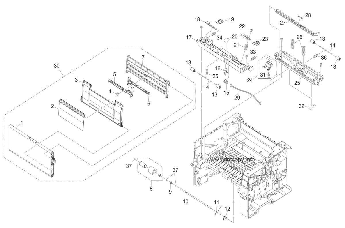 Parts Catalog > Kyocera > FS6020 > page 6