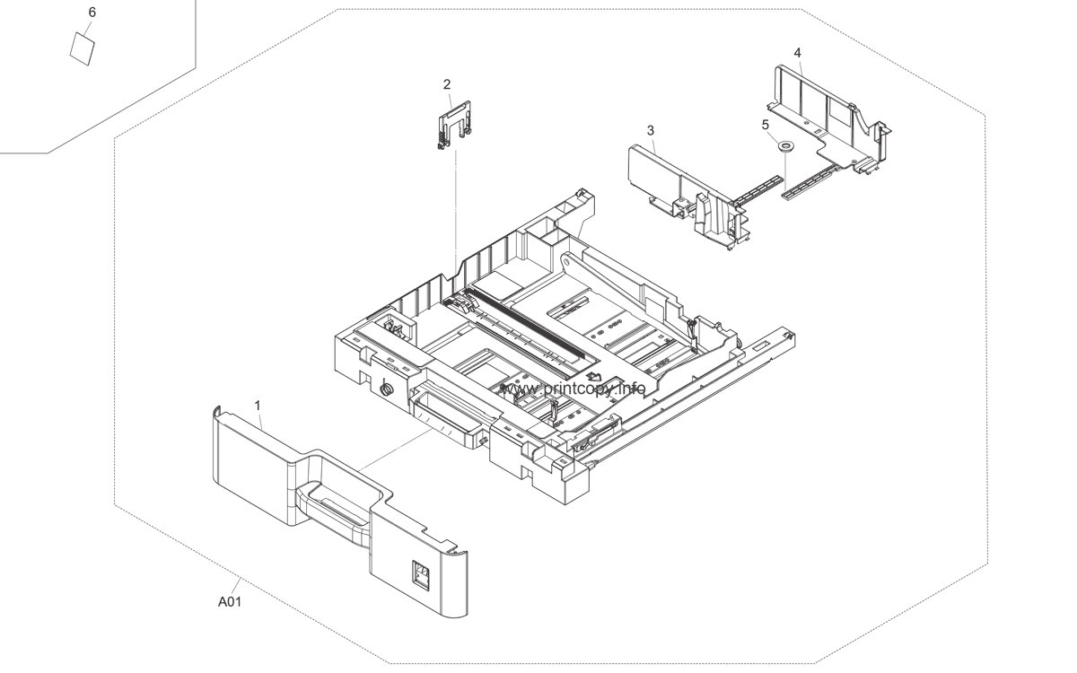 Parts Catalog > Kyocera > FS6525MFP > page 4