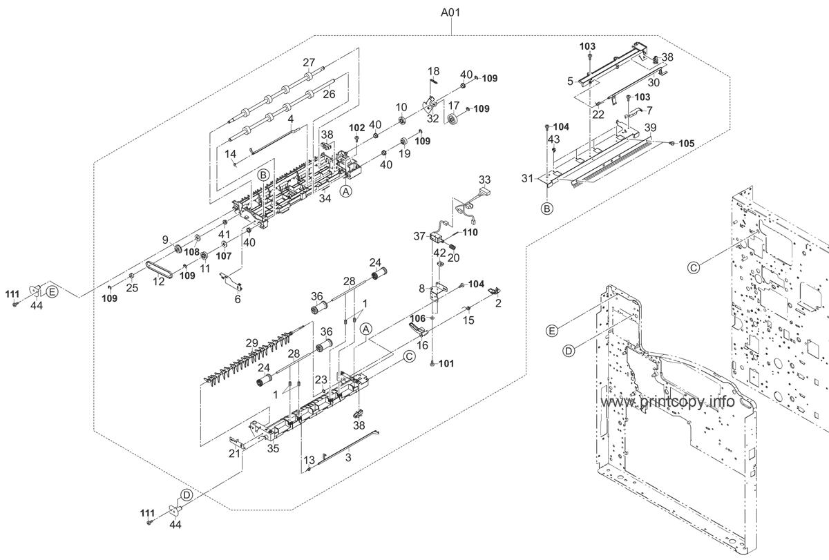 Parts Catalog > Kyocera > FS9530DN > page 8