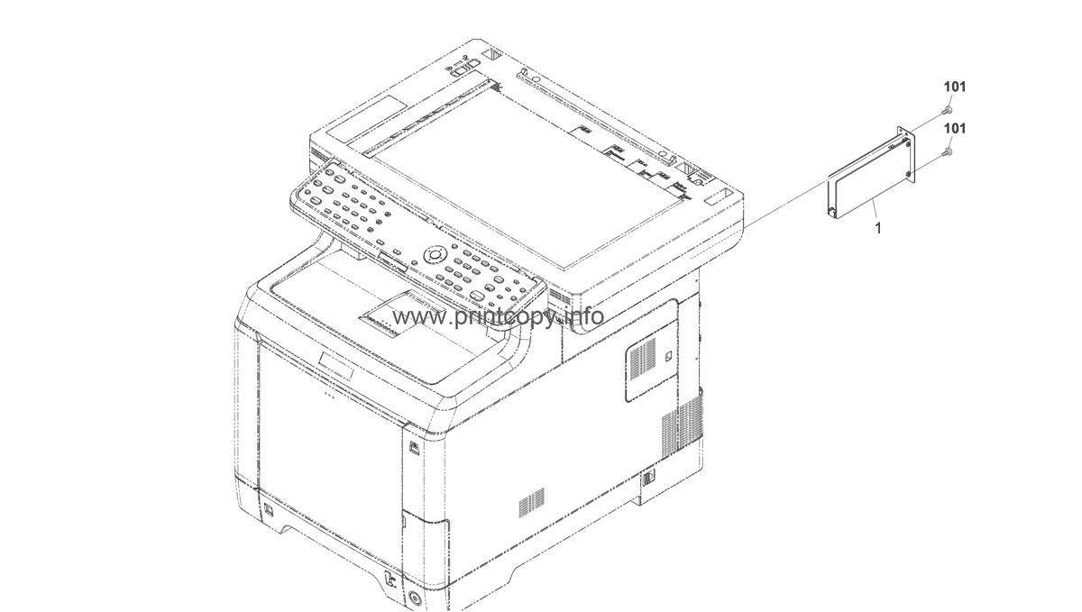 Parts Catalog > Kyocera > FSC2126MFP plus > page 17