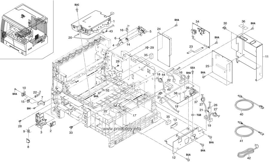 Parts Catalog > Kyocera > KM1620 > page 12