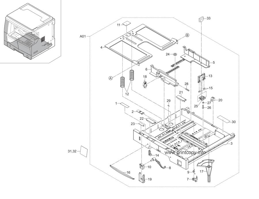 Parts Catalog > Kyocera > KM1648 > page 3