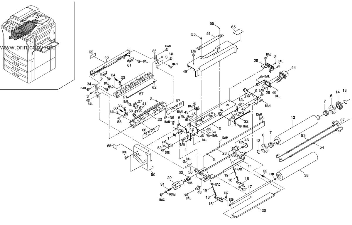 Parts Catalog > Kyocera > KM4230 > page 19