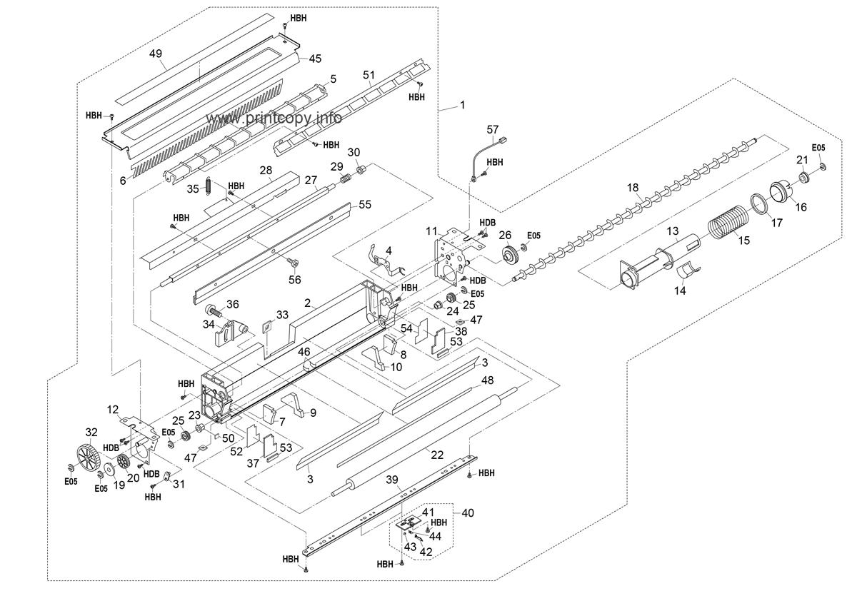 Parts Catalog > Kyocera > KM4530 > page 14
