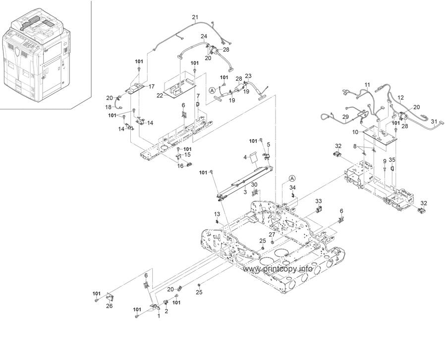 Parts Catalog > Kyocera > KM6030 > page 41