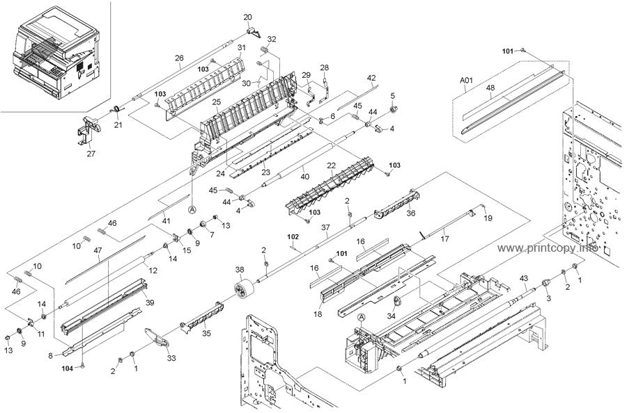 Parts Catalog > Kyocera > TASKalfa 180 > page 5