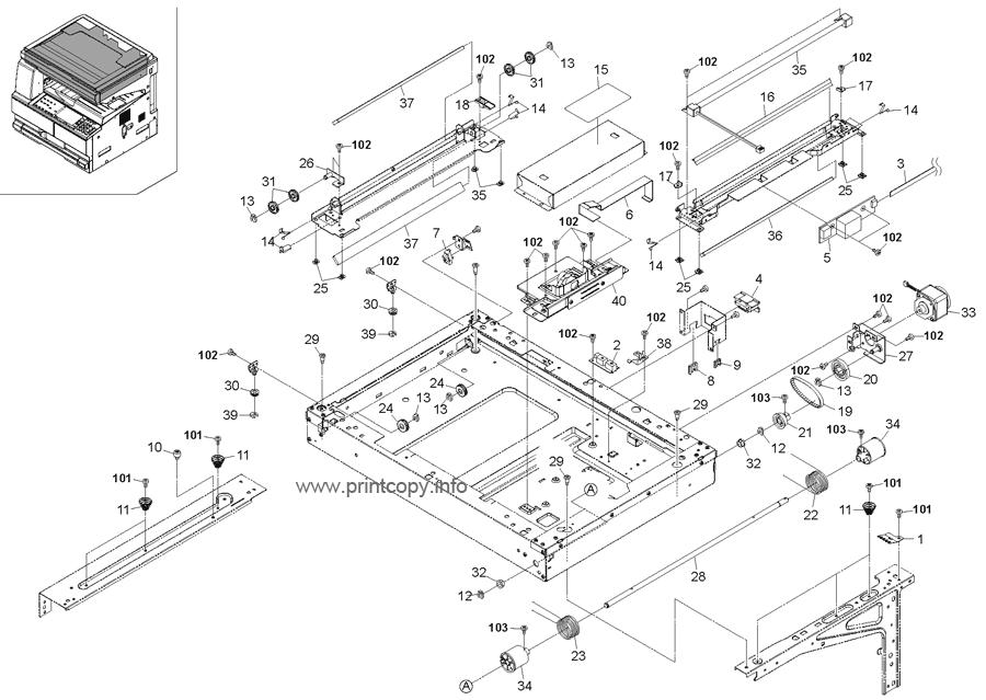Parts Catalog > Kyocera > TASKalfa 180 > page 7