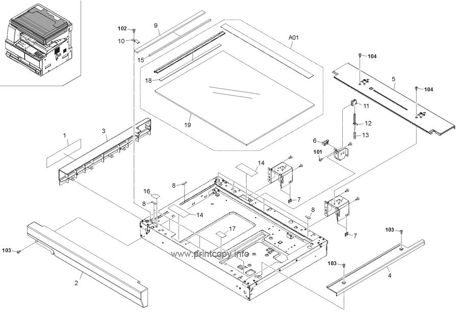 Parts Catalog > Kyocera > TASKalfa 220 > page 8