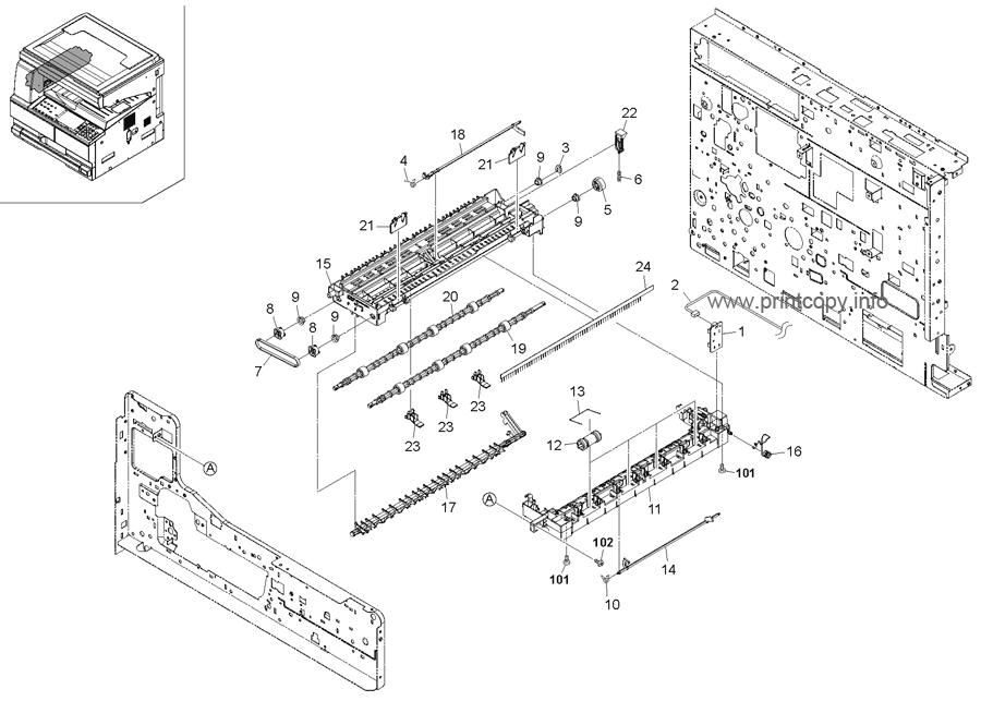 Parts Catalog > Kyocera > TASKalfa 180 > page 15