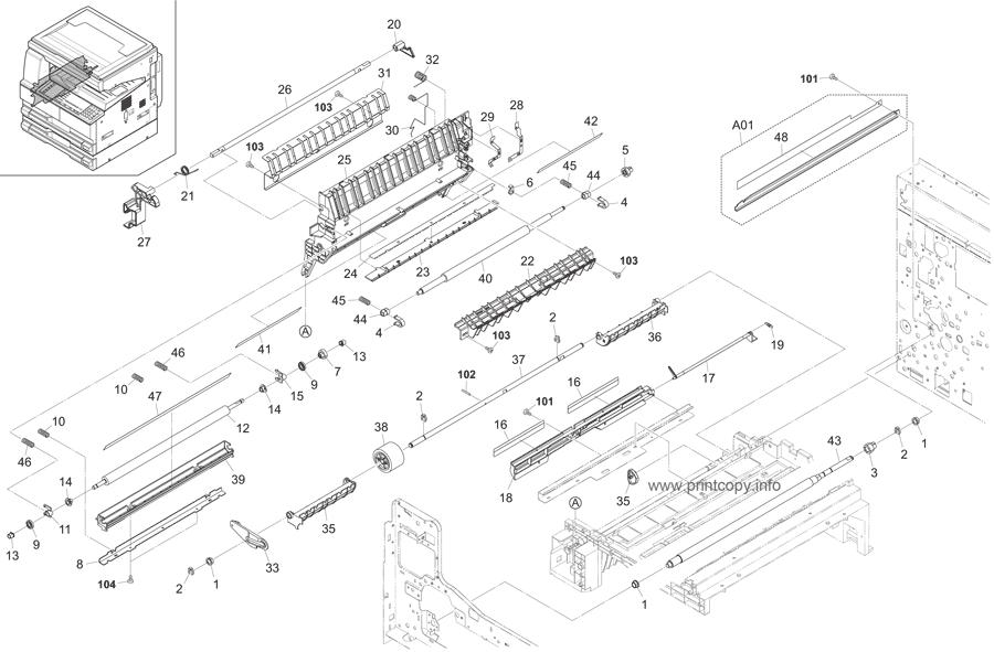 Parts Catalog > Kyocera > TASKalfa 221 > page 5