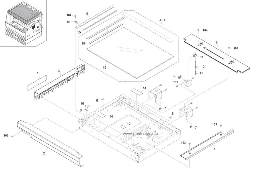 Parts Catalog > Kyocera > TASKalfa 221 > page 11