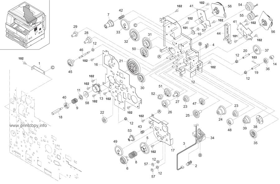 Parts Catalog > Kyocera > TASKalfa 181 > page 17