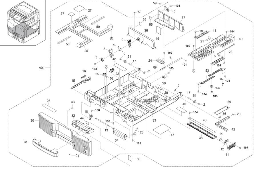 Parts Catalog > Kyocera > TASKalfa 400ci > page 5