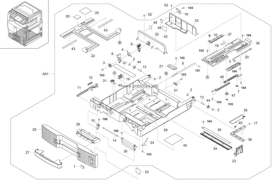 Parts Catalog > Kyocera > TASKalfa 250ci > page 6